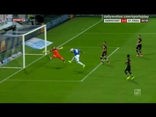 SV Darmstadt 98 - FC St. Pauli - 3-0 (1-0) (18.08.2017, goals)