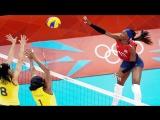 Queen of Volleyball Spike - Destinee Hooker