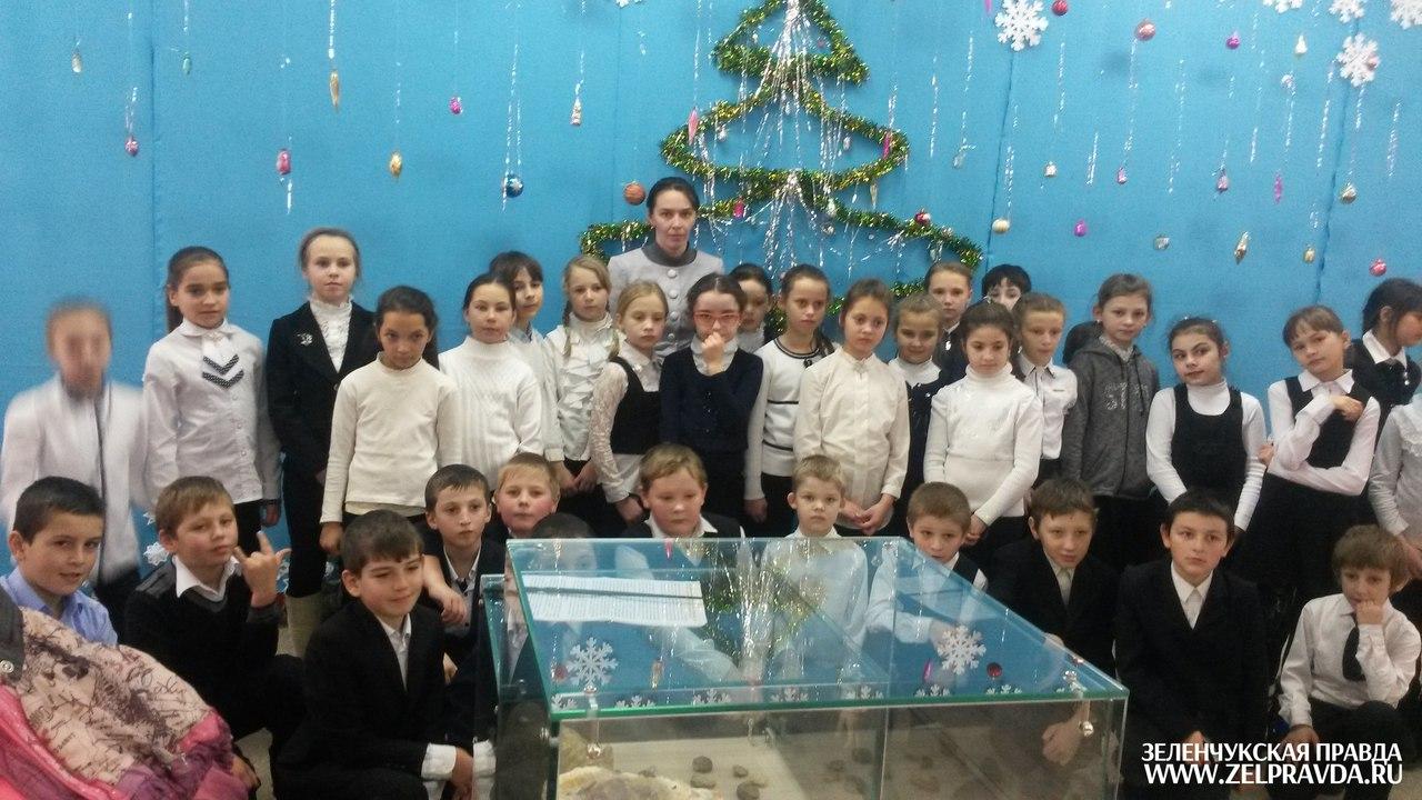 Школьники из Зеленчукской узнали «Историю новогодней игрушки»