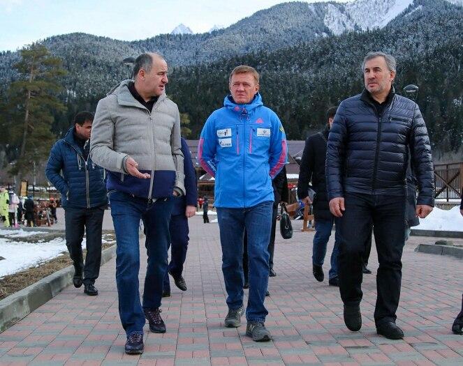 Роман Старовойт посетил Зеленчукский район