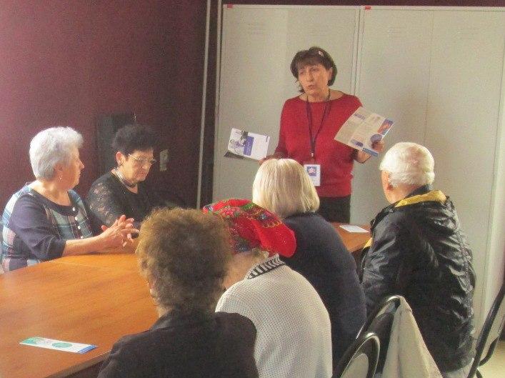 В станице Зеленчукской работникам клуба «Стимул» рассказали обо всех нововведениях в пенсионной системе