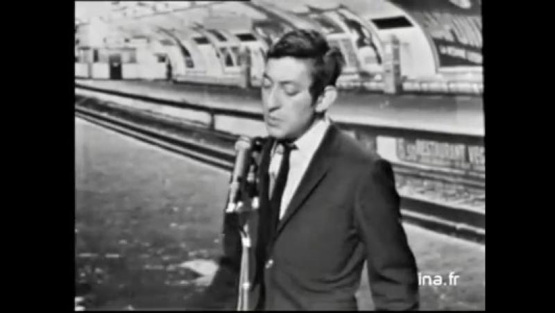 Serge Gainsbourg - Le poinçonneur des Lilas (télévision 1968) Source Ina.fr
