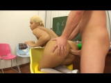 Blond Anal Whore Getting Butt Fucked