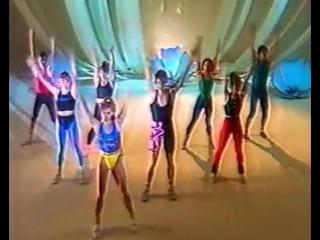 Ритмическая гимнастика (1990 г.) со Светланой Рожновой и Олегом Кнышом