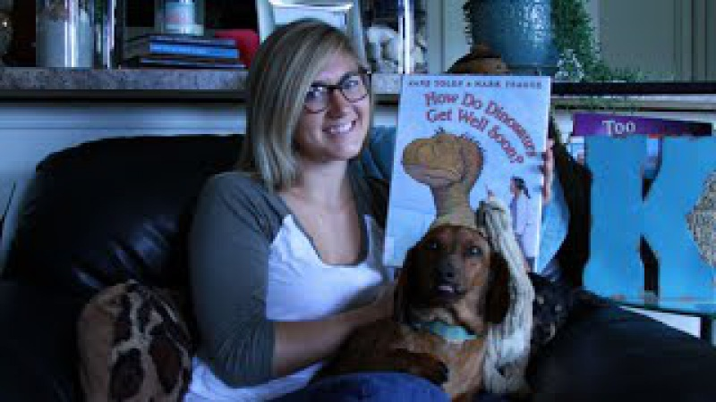 How Do Dinosaurs Get Well Soon by Jane Yolen Mark Teague Read Aloud Childrens Book