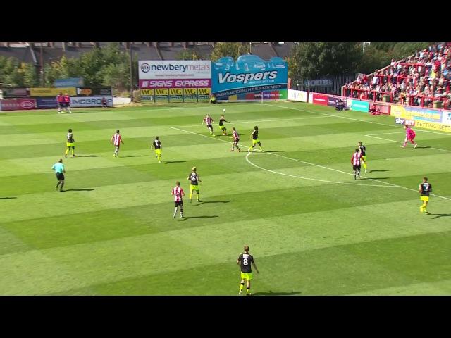 «Экзетер Сити» 1-0 «Кембридж Юнайтед». Вторая Лига. 1 тур.