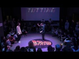 Биби Vs Стич popping students Back to the future battle 2017
