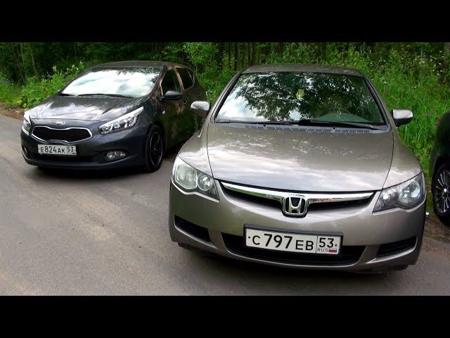 Kia Ceed vs Honda Civic vs ВАЗ-2113