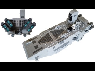Lego Star Wars First Order Troop Transport MOC | Mini-figure Scale (Subscriber's Request)