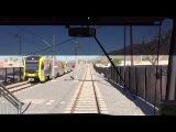 LA Metro Rail HD 60 FPS AnsaldoBreda P2550 Gold Line Cab Ride (APUCitrus College-Union Station)
