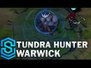 Tundra Hunter Warwick 2017 Rework Skin Spotlight Pre Release League of Legends