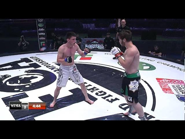 WFCA Грозная битва 28 Эльдар Гаджиев vs Мансур Джамбураев
