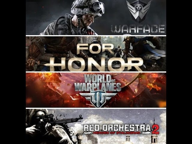 ЁЖИК ВЫШЕЛ ИЗ ТУМАНА! (World of Warplanes, Warface , Red Orchestra 2 , FOR HONOR)