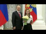 Владимир Путин вручил паспорта десяти юным россиянам. Новости. Первый канал