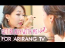 Get Ready With Me for ARIRANG TV! ♥ MEEJMUSE SPECIAL Part 1 라이브 티비 아침 루틴