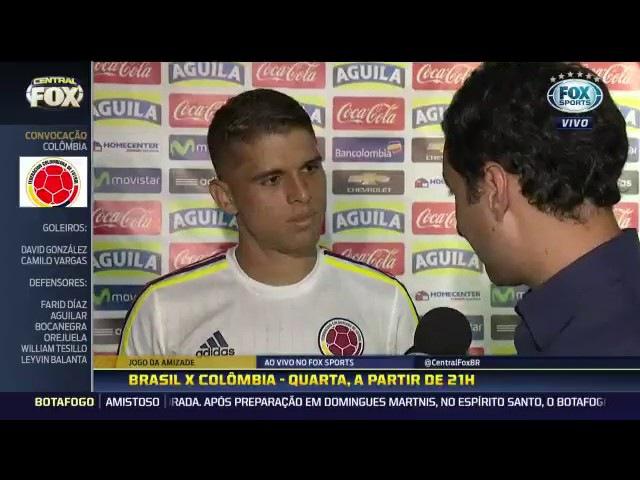 Cuéllar afirmando que o Berrio quer vim para o Flamengo