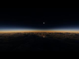 СОЛНЕЧНОЕ ЗАТМЕНИЕ СНЯТОЕ С САМОЛЕТА НАД АЛЯСКОЙ | SOLAR ECLIPSE OVER ALASKA | FULL HD