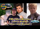 Justin Nimmo Interview Round 1 Power Rangers in Space Morphin Monday