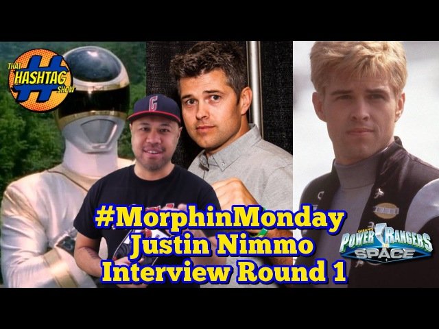 Justin Nimmo Interview [Round 1] | Power Rangers in Space | Morphin' Monday