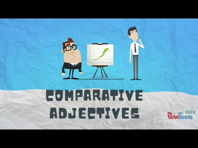 How to Compare Things in English Comparative Adjectives