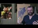 Юрий Клапоух. Урок для начинающих. Пишем виноград. Часть 1.