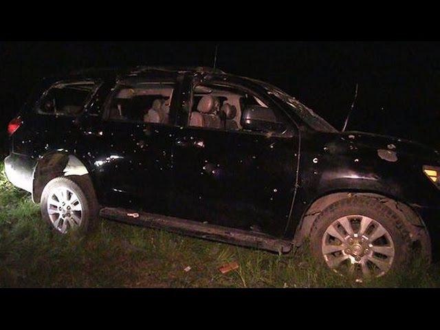 Шокирующее видео с места убийства Алексея Мозгового. 24.05.2015