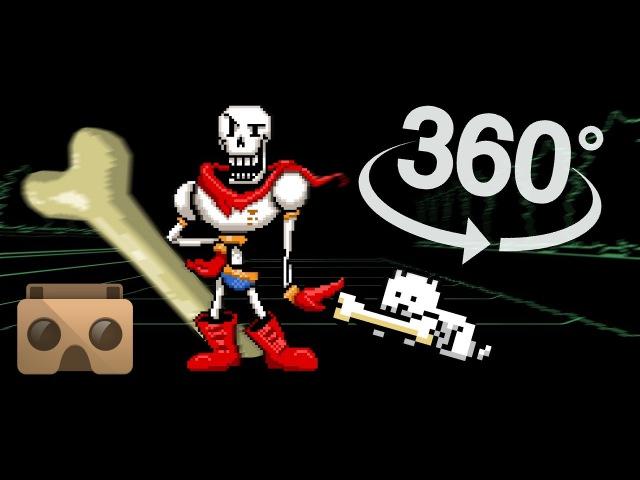 Papyrus Battle 360 (pacifist): Undertale 360 Project 28
