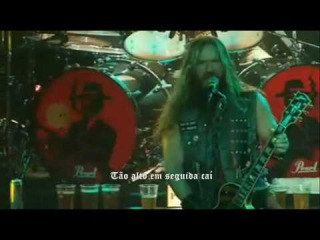 Black Label Society The European Invasion Doom Troopin' Live Parte 4 de 18 Legendado (Pot-Br).wmv