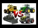 Советские Трактора VS Американские Трактора