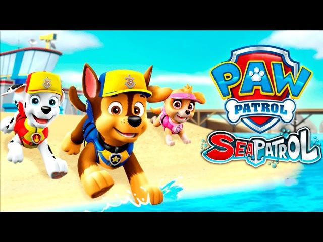 PAW Patrol Sea Patrol Fun Kids Games gameplay