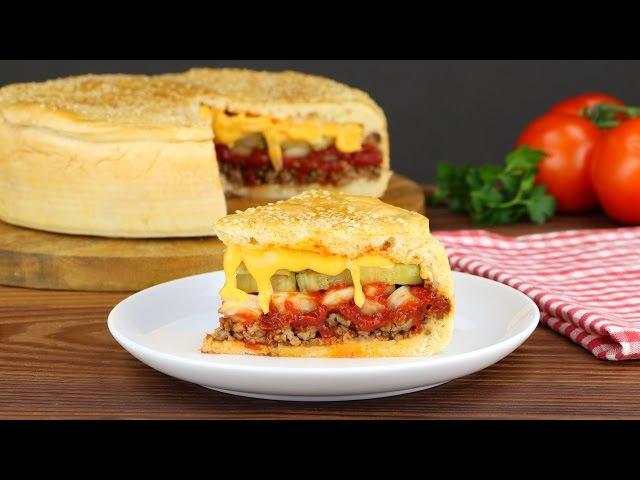 Мясной пирог Чизбургер
