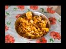 Лисички жареные с картошкой на сковороде Домашняя Кухня