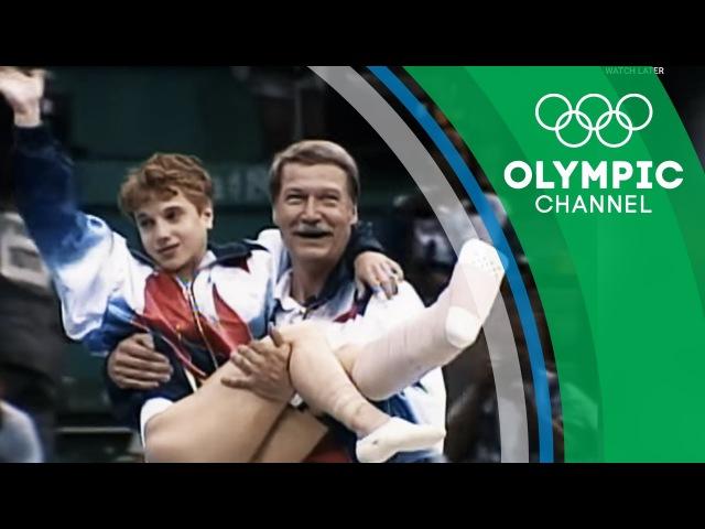 Kerri Strug's Unforgettable Determination to Win Gymnastics Gold | Strangest Moments