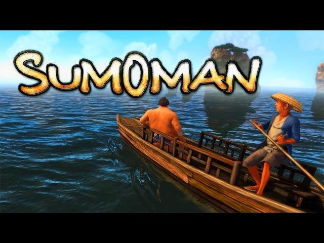 Let`s Play Sumoman 1 ● Стойка на голове удалась