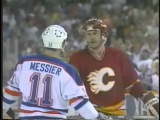 Mark Messier 'Goals &amp elbows' (Edmonton Oilers)