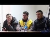 Послематчевая Пресс конференция ФК Акжайык  ФК Шахтер