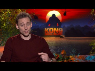 Tom Hiddleston Raw Interview Kong Scull Island