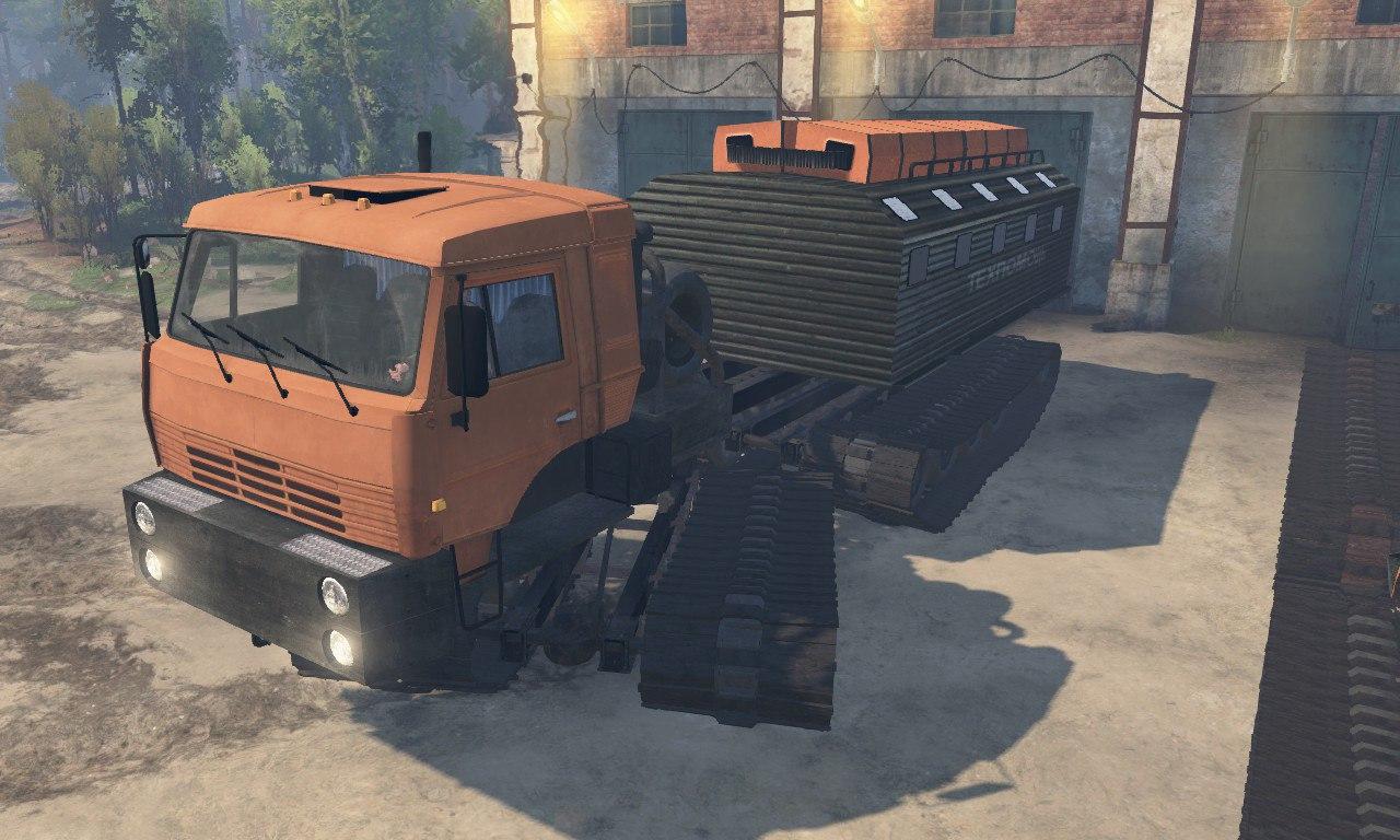 Урал-5920 и Камаз-6520 для Spintires для Spintires - Скриншот 1