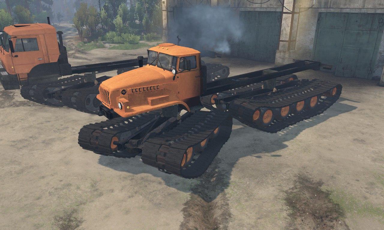 Урал-5920 и Камаз-6520 для Spintires для Spintires - Скриншот 3
