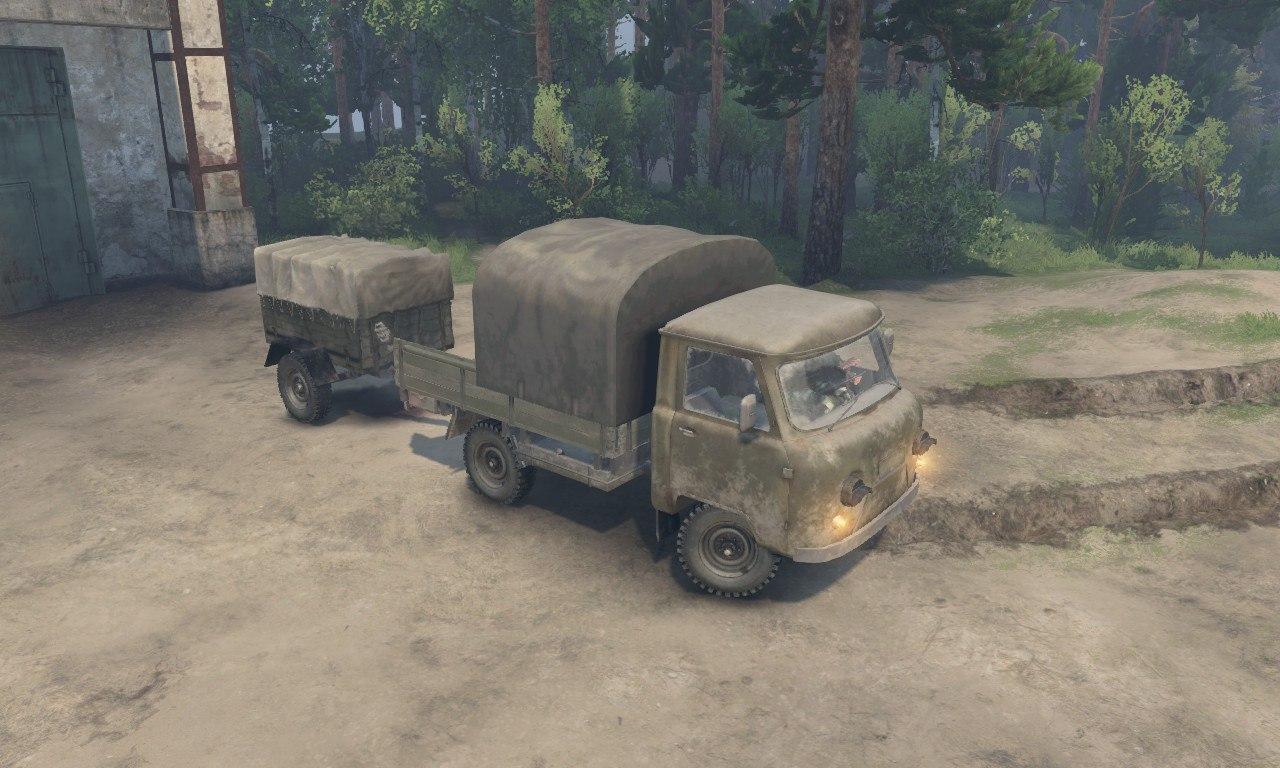 УАЗ-452Д для 03.03.16 для Spintires - Скриншот 1