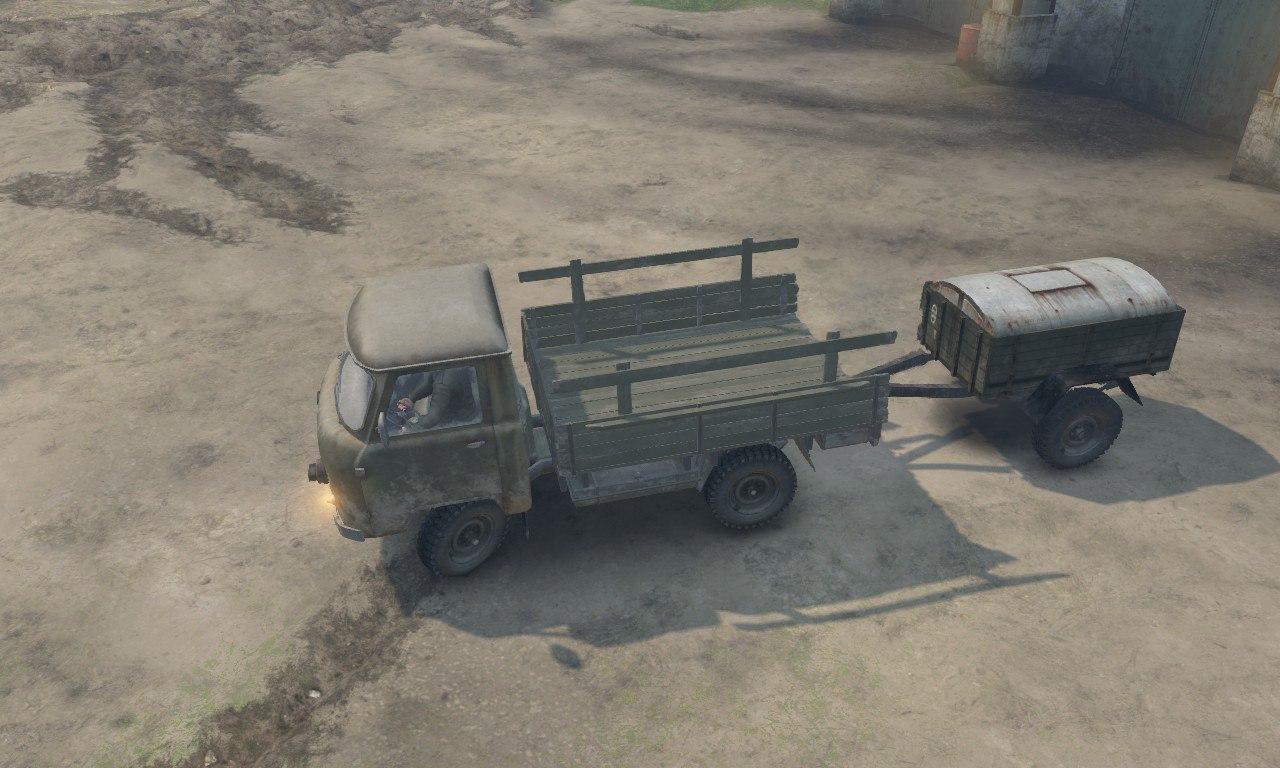 УАЗ-452Д для 03.03.16 для Spintires - Скриншот 3