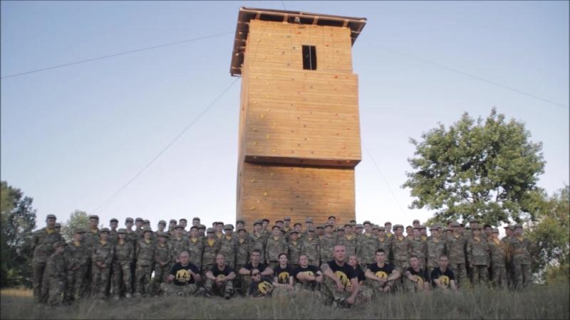 Учасники військово-патріотичного табору «Азовець» запрошують на відкриття центру національно-патріотичного виховання молоді