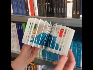 Mount Fuji 3-D book