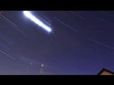 Траекторие движения звезд над плоской землей