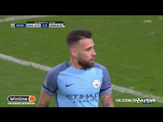 Манчестер Сити - Монако. Незабитый пенальти Фалькао