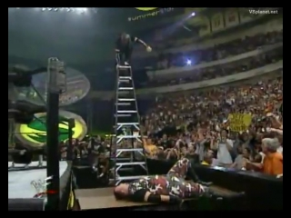 WWF SummerSlam 2000 - Edge and Christian vs The Hardy Boyz vs The Dudley Boyz (TLC Match for the WWF Tag Team Championship)