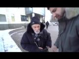 Амиран Сардаров - блогер, делает доброе дело, помогает одинокому дедушке - МОЛОДЕЦ!