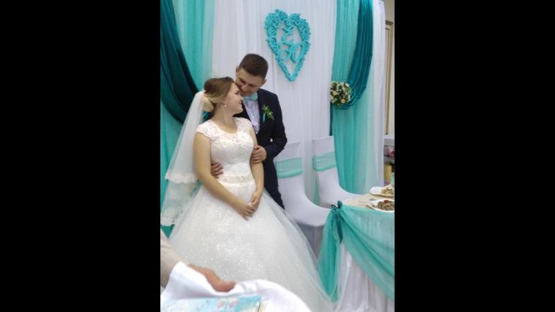 Поздравление старшему брату и его невесте Юле на свадьбу от сестры