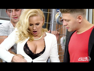 Klara (hot czech milf klara gets dp in hot threesome with stepson and friend)[2017, anal, creampie, double penetration,hd 1080p]