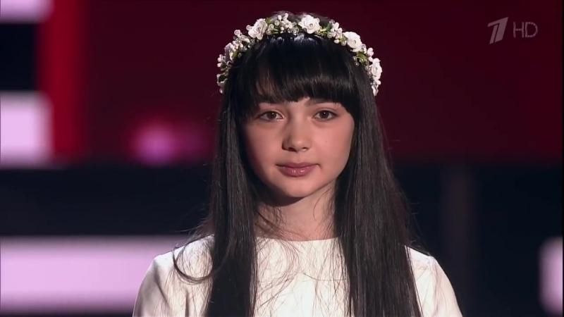 Дениза Хекилаева «Вера» - Слепые прослушивания - Голос.Дети - Сезон 4